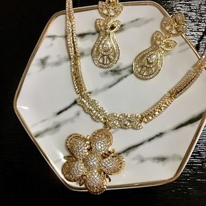 💕 NWT Jewelry Set ( Necklace & Earring) 💕